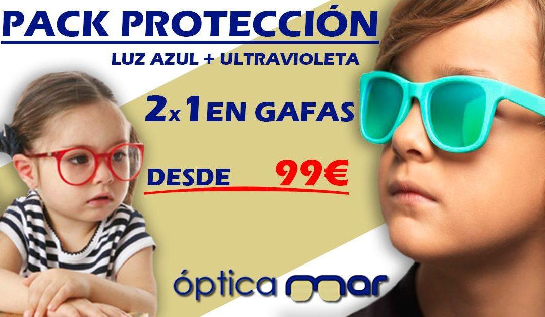 2 x 1 En gafas desde 99€